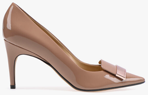 Sergio Rossi sr1 women's pump: US$750.