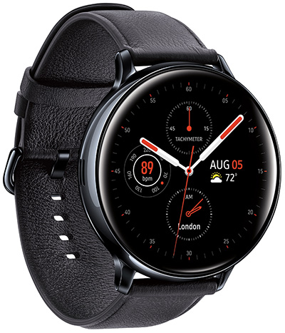 Samsung Galaxy Watch Active2 (44mm), Black (LTE) smartwatch: US$449.99.