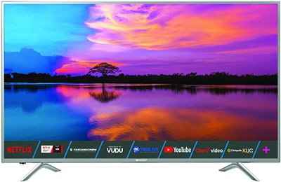Sharp 7500 Series 4K Android Smart TV.