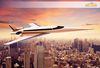 The Spike S-512 Supersonic Business Jet.
