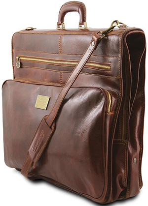 Tuscany Leather Papeete Garment leather bag: US$540.51.