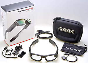 Vuzix Blade AR Smart Glasses, with Amazon Alexa Built-in, HD Camera and Voice-Controls: US$699.99.