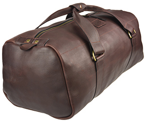 Akubra Murray Drum Bag - Brown Leather: $499AUD.