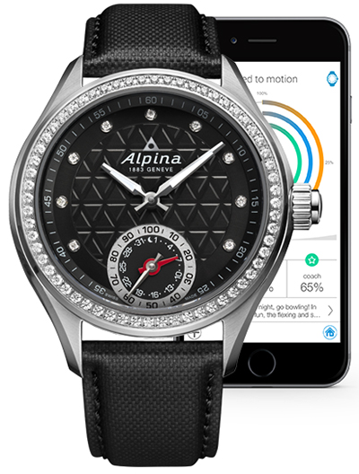 Ladies Alpina Horological Smartwatch.