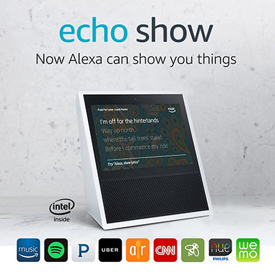 Amazon Echo Show: US$$229.99.