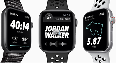 Apple Watches Nike+.