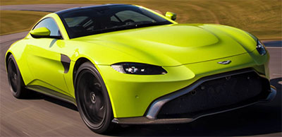 Aston Martin Vantage (2018-): from US$$149,995.