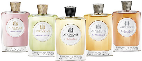 Atkinsons Fragrance Collections.