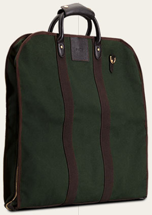 Baron Garment Bag Green Canvas: €375.