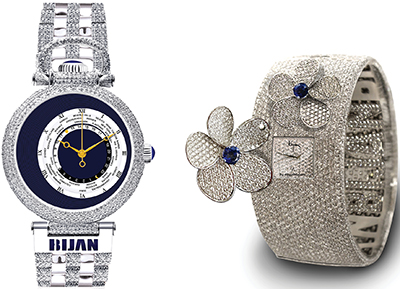 Bijan watches.