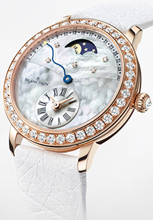 Blancpain Quantième Rétrograde watch for women.