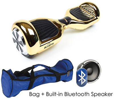 Bluefin 6.5-inch Classic Hoverboard Swegway in Gold Chrome: £279.