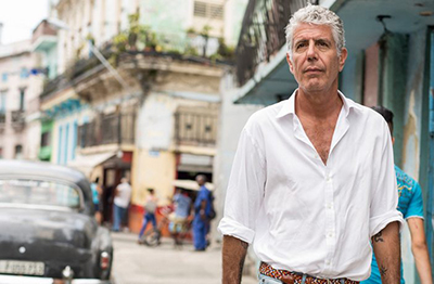 Anthony Bourdain (June 25, 1956 – June 8, 2018).