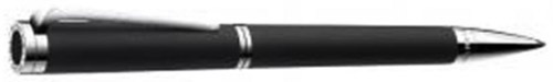 Bvlgari-Bvlgari ballpoint pen in sterling silver with soft touch black cotton resin & Onyx: US$389.