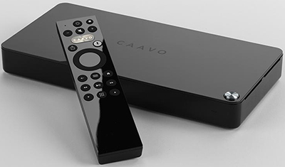 Caavo Control Center + Universal Remote: US$99.95.