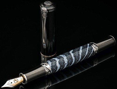 William Henry Cabernet F8-1101 fountain pen: US$1,900.