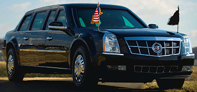 Cadillac One: The Obamamobile.