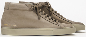 Common Projects men's sneakers.