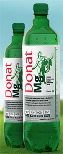 Donat Mg mineral waters.