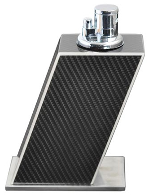 Elie Bleu Carbone Fiber Table Lighter White Edge: €695.