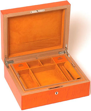 Elie Bleu Jewellery Box Medium Size Orange Fruit Collection: €2,902.