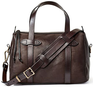 Filson women's Weatherproof Leather Satchel: US$795.