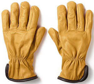 Filson Original Lined Goatskin men's gloves: US$150.