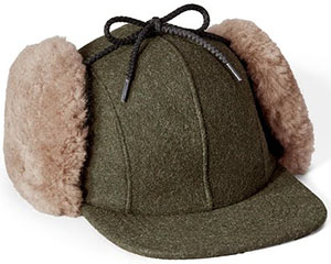Filson men's Double Mackinaw Wool Hat: US$95.