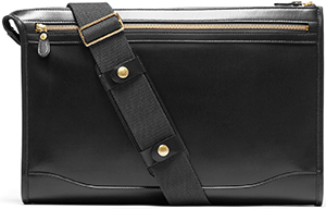 Ghurka Leather Crossbody Docket No. 7 men's bag: US$795.