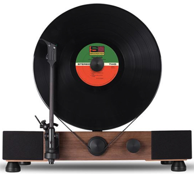 Gramovox Floating Record Vertical Turntable: US$550.