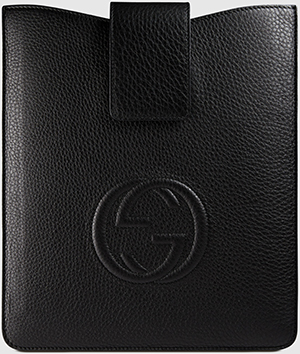 Gucci Soho leather iPad case: USD$380.