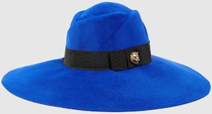 Gucci women's Felt wide-brim hat: US$715.
