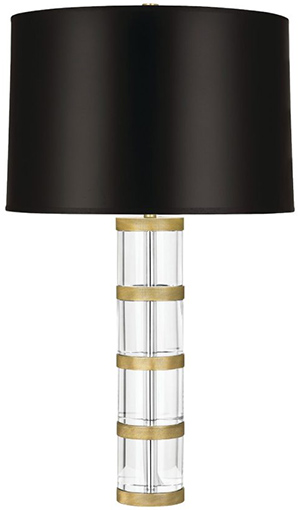 Nicholas Haslam Ltd Wyatt Table Lamp Clear Crystal.