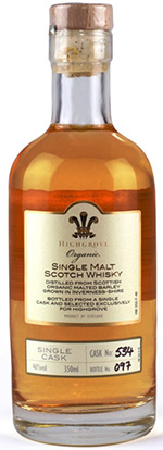 Highgrove Organic Single Malt Scotch Whisky, 350ml: £24.95.