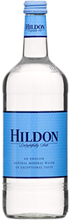 Hildon mineral water.