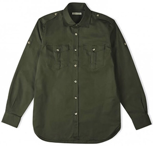 Holland & Holland Men's Safari Shirt: £320.
