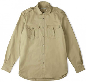 Holland & Holland Women's Safari Shirt: £350.