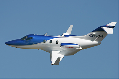 Honda HA-420 HondaJet. Photo: Sergey Ryabtsev.