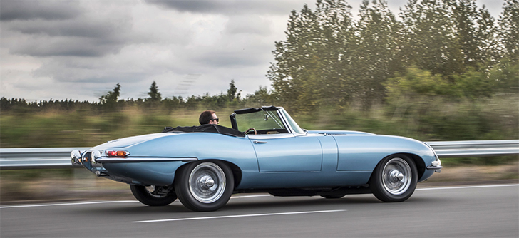 Jaguar E-type Concept Zero (2017-) - 'The most beautiful electric car in the world'.
