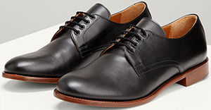 Joseph Leather Derby Shoes: £345.
