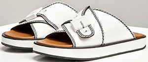 Joseph Leather Guide Slides: £295.