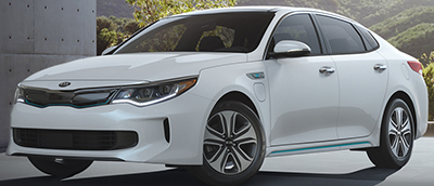 Kia Optima Plug-In Hybrid (2018).