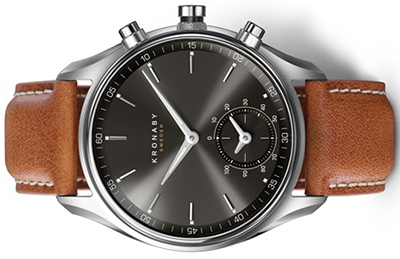 Kronaby Sekel 43mm Steel watch: US$595.