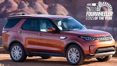 Land Rover Discovery (2018).