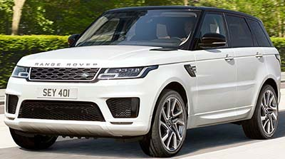 Land Rover Plug-In Hybrid (2018).
