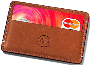 Leica Leather Cardholder: £43.