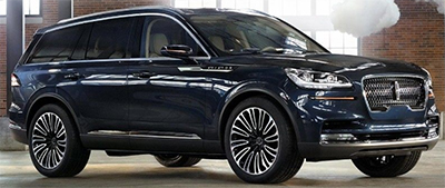 Lincoln Aviator (2019).