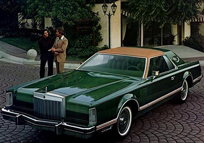 Lincoln Continental Mark V Givenchy Edition.