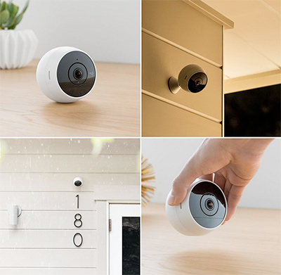 Logitech Circle 2 Indoor/Outdoor Weatherproof Wireless Home Security Camera (Person Detection, 24-Hr Free Time-Lapse), Works with Amazon Alexa: US$136.