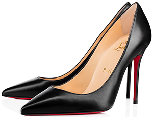 Christian Louboutin Decollete 554 100 mm women's pumps: US$695.